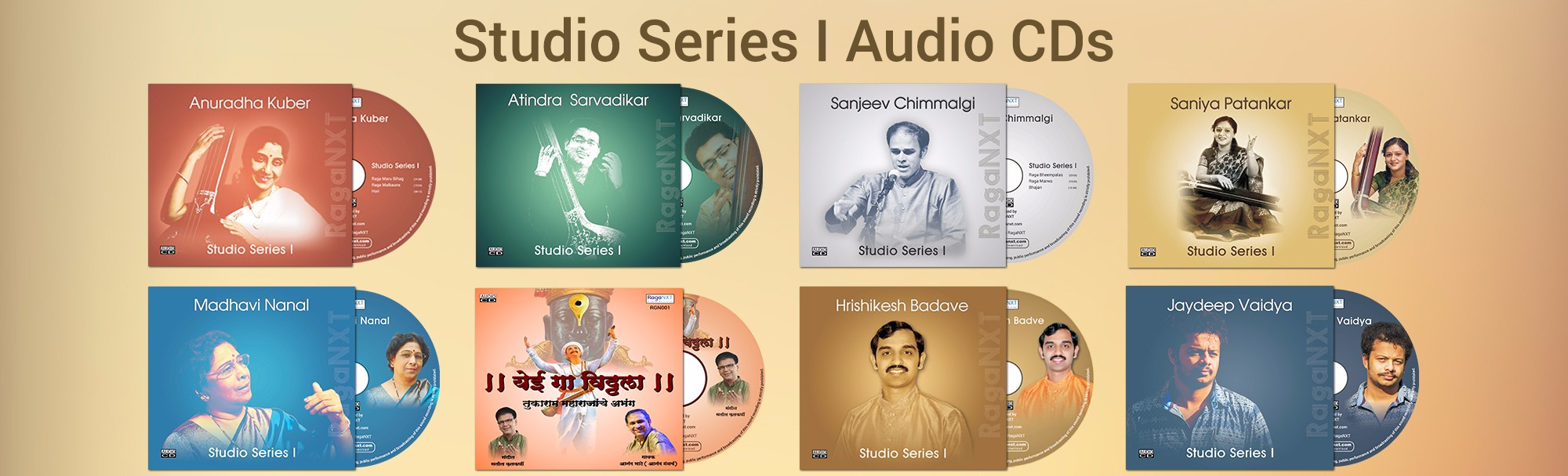Studio series I Audio cds